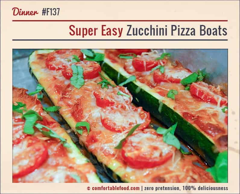 Low Carb Zucchini Pizzas