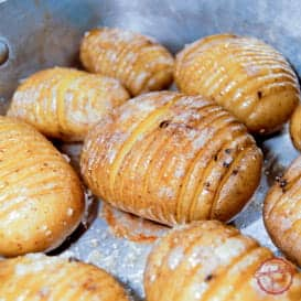 Roasted Hasselback Potatoes 1