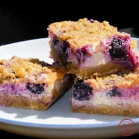 Lemon Blueberry Cheesecake Bars 5