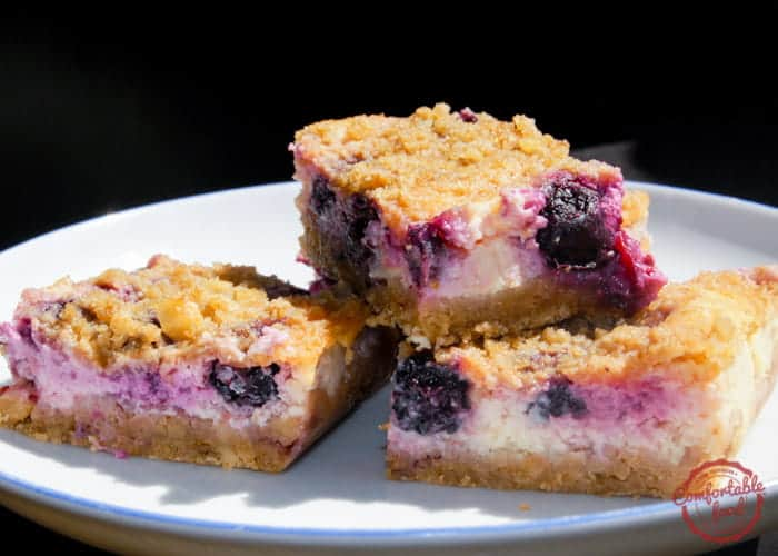 Lemon Blueberry Cheesecake Bars 1