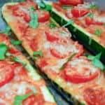Super Easy Zucchini Pizza Boats