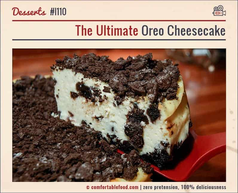 This truly is The Ultimate Cheesecake!