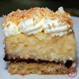 Coconut Cream Pie (and Chocolate) Bars 3