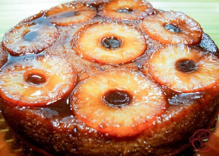 upside down pineapple coffee cake recipe