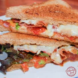 The BLT Grilled Cheese Sandwich Recipe.