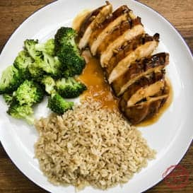 The best chicken teriyaki marinade and sauce ever.