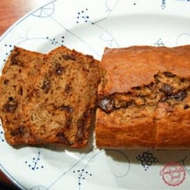 Peanut Butter Chocolate Chip Banana Bread with Video 5