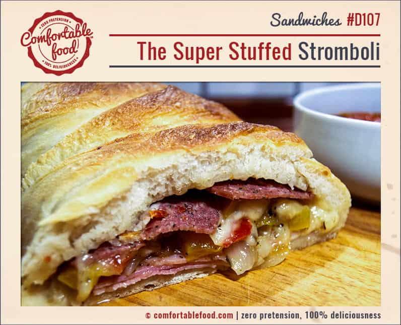 An Easy Stromboli Recipe.