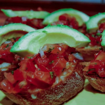 Mexican bruschetta.