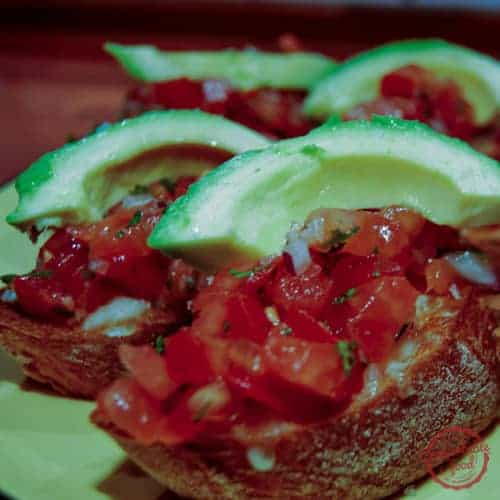 Mexican Bruschetta 1