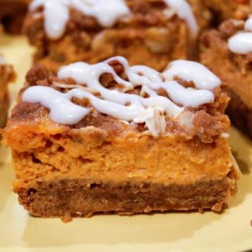 The best pumpkin gingerbread bars