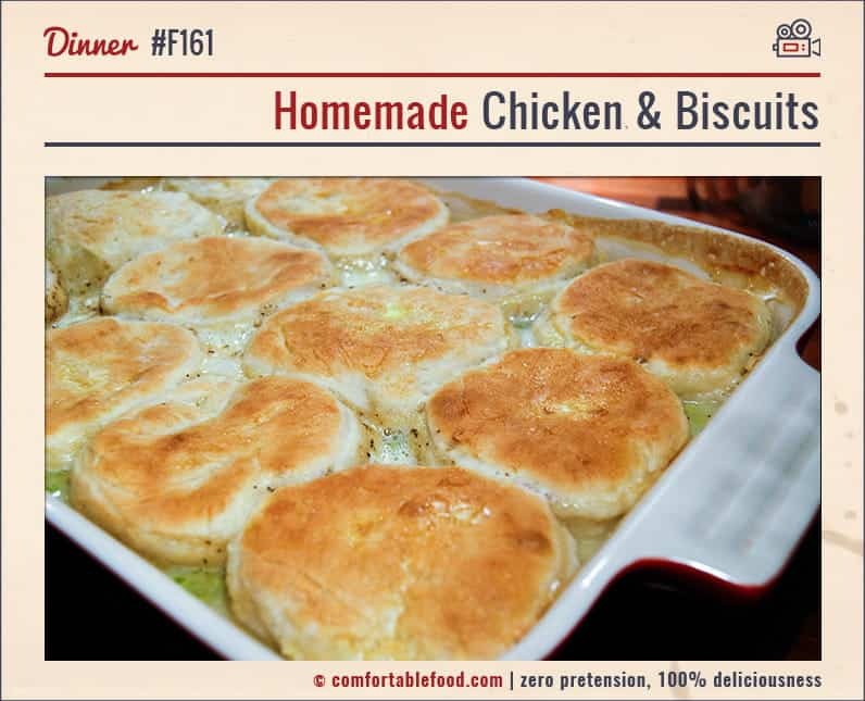 A great Chicken Biscuit Casserole Recipe.