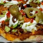 Individual Mexican Pizzas