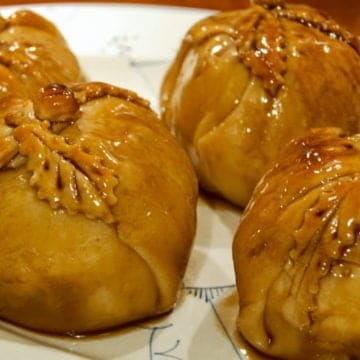 An old fashioned apple dumpling recipe.