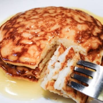 Rice griddle cakes
