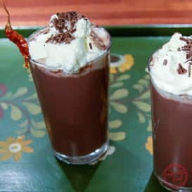 Spicy Aztec Hot Chocolate with Chipotle 1