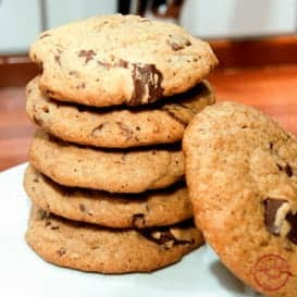 Chocolate Chip Peanut Butter Cookies 4