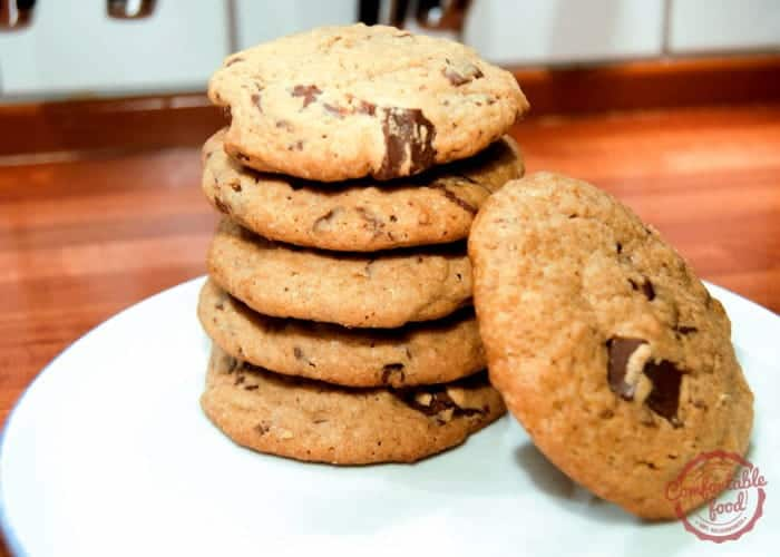 Chocolate Chip Peanut Butter Cookies 1