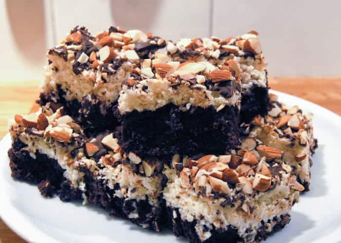 Almond Joy Brownies 1
