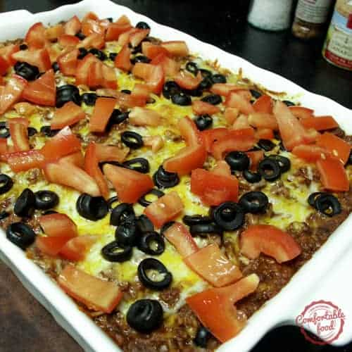 easy beef and bean taco casserole recipe