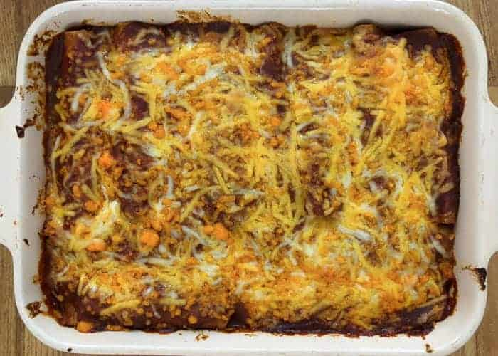 Quick and Easy Beef Enchiladas w/Video 1
