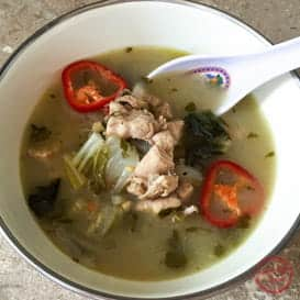 Thai Chicken Coconut Soup 3