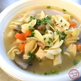 Super Hearty, Super Delicious Chicken Noodle Soup 3