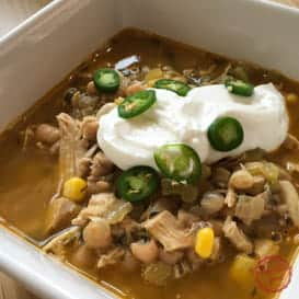 The Best White Chicken Chili 1