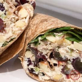 The Waldorf Chicken Salad Wrap 1