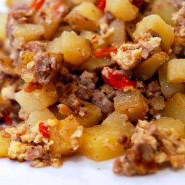 Best ever breakfast potatoes