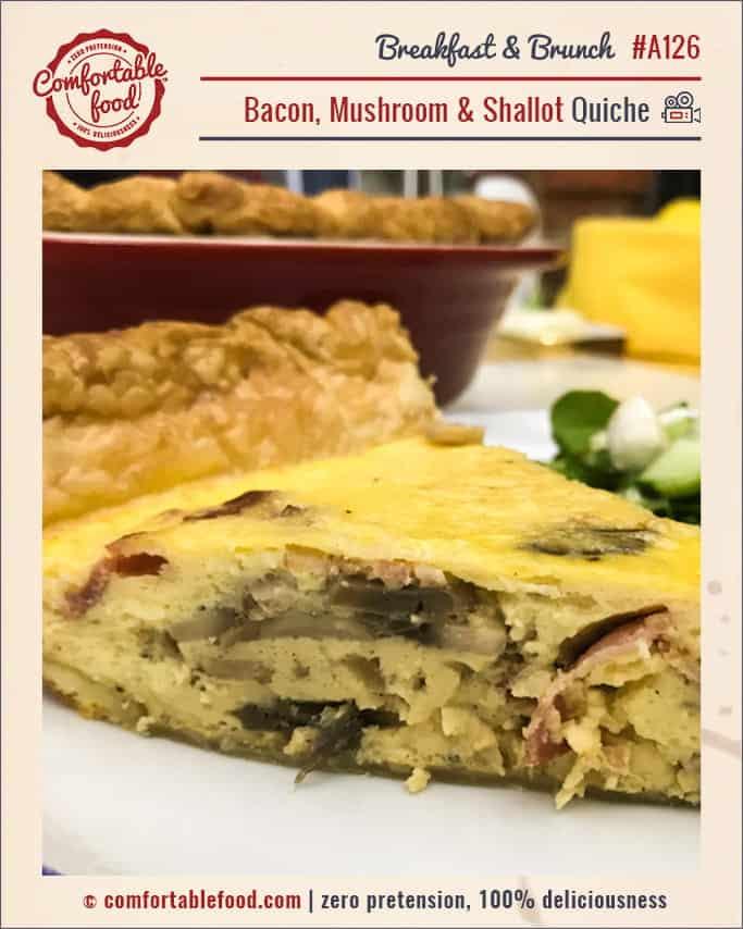 An easy, meaty delicious quiche recipe.