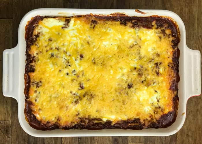 A Super Quick and Easy Enchilada Casserole Recipe