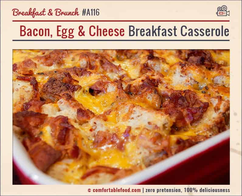 Mary's Marvelous Overnight Breakfast Sausage Bake with Video 1