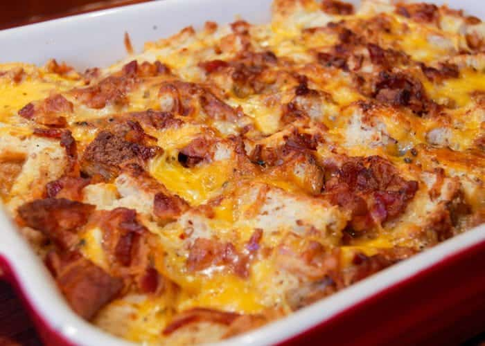 Bacon Egg And Cheese Breakfast Casserole Video