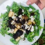 Pear, Beet and Goat Cheese Salad