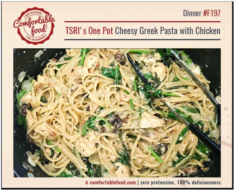 An easy, cheesy one pot pasta dinner recipe.