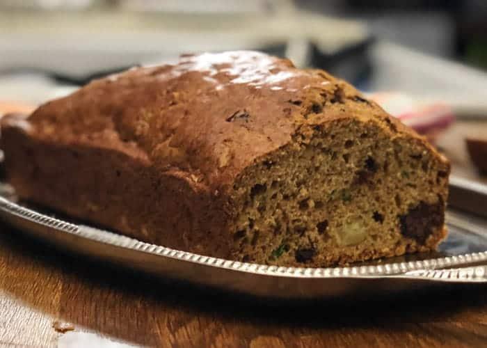 Chocolate Chunk Zucchini Bread 2