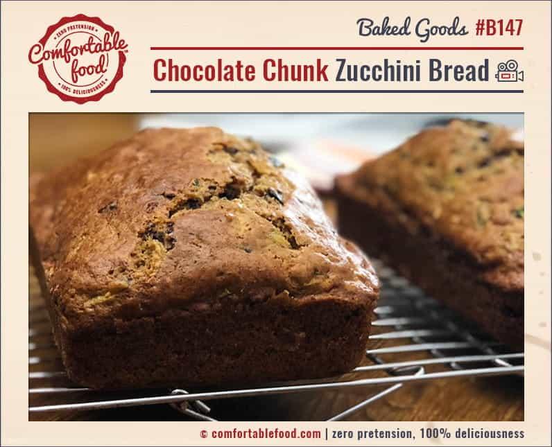 Chocolate Chunk Zucchini Bread 1