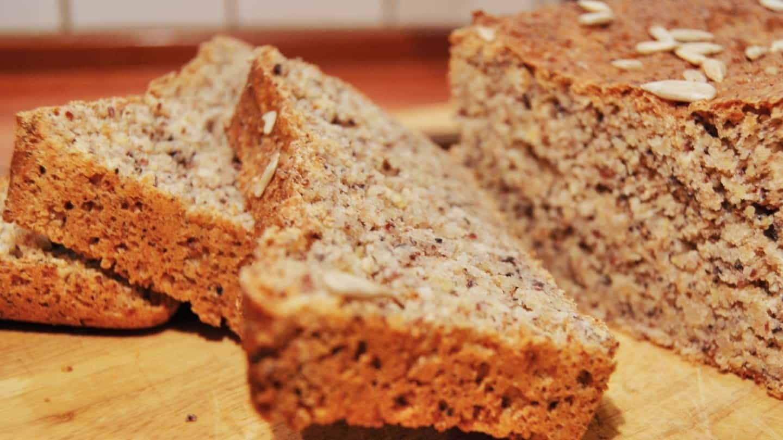 Ezekiel bread slices